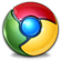 Widget for Chrome. Press logo to download widget